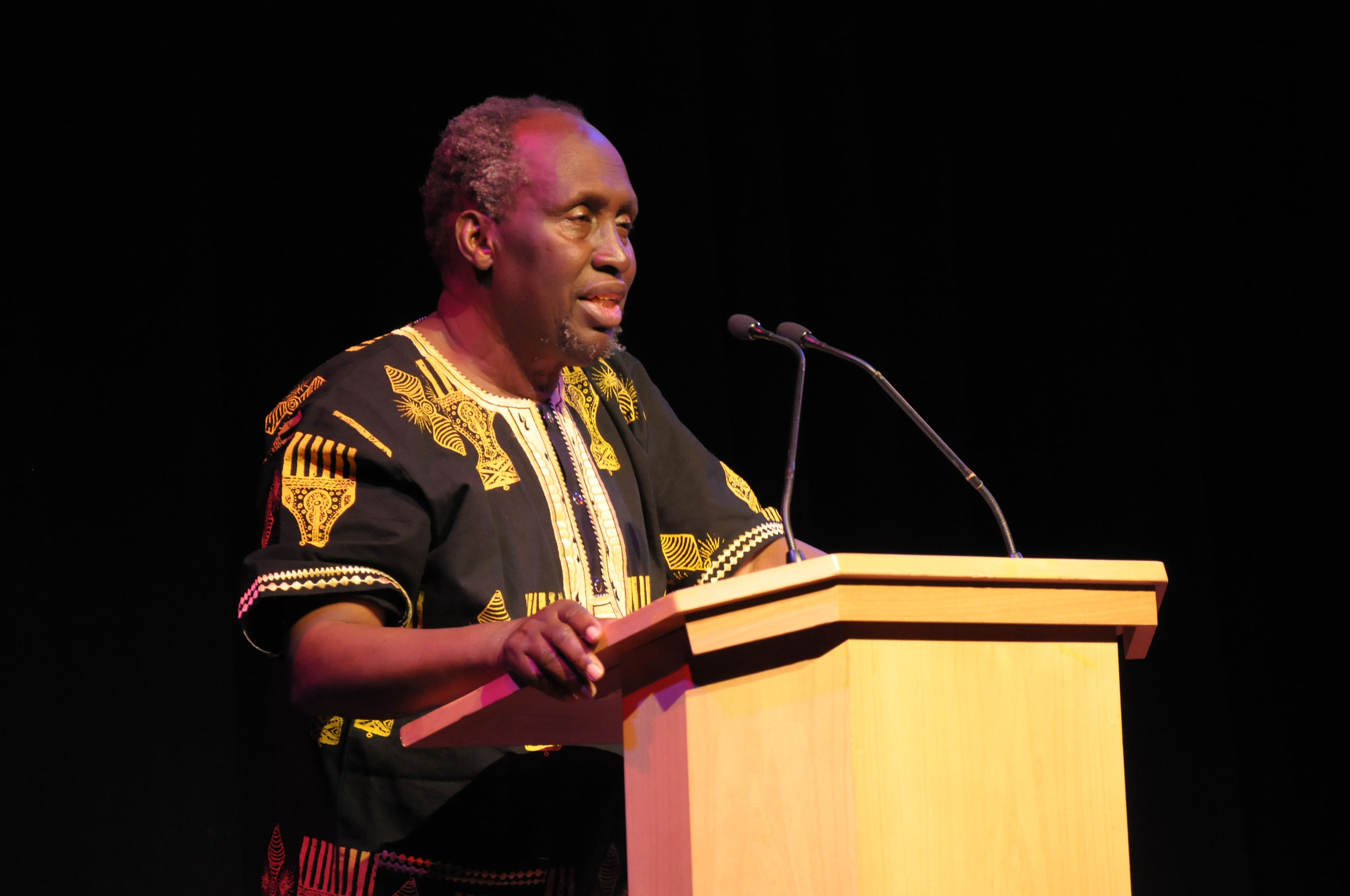 Ngugi wa Thiong'o Additional Biography