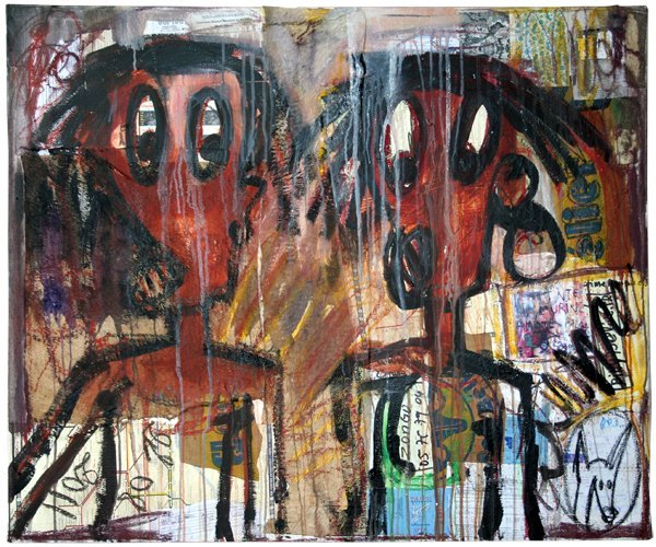 Quitte Le Pouvoir: New Paintings by Aboudia