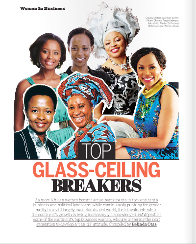 Africa's Leading Business Women - The Glass-Ceiling Breakers