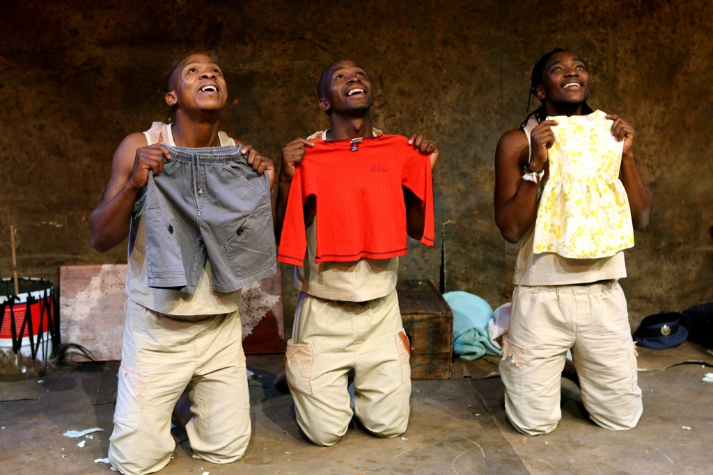 Bogile Mantsai, Thami Mbongo and Mdu Kweyama