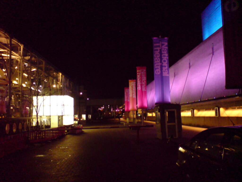 Entrance To The national Theatre. Ever So colourful