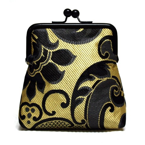 Black and Gold Pico Pouch
