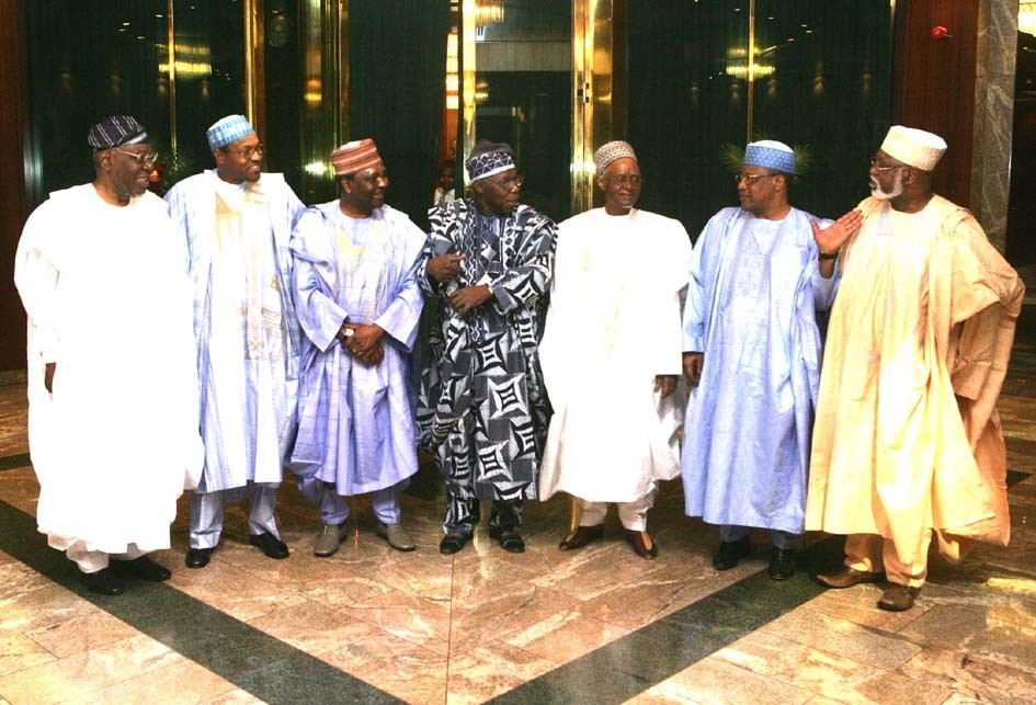 Chop Chop Men - Former Nigerian Presidents